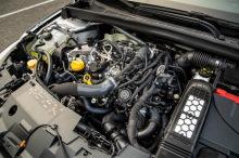 Renault Megane Zen gray engine