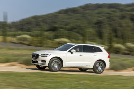 traveling droite gauche Volvo XC60 T8 Twin Engine
