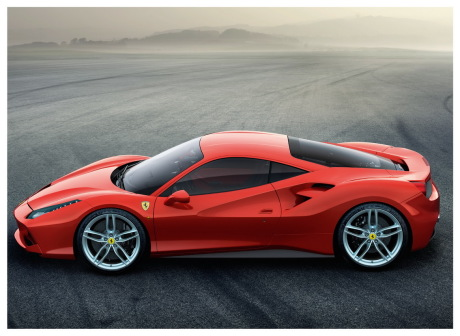 ferrari 488 gtb 670 ch en approche l 39 argus. Black Bedroom Furniture Sets. Home Design Ideas