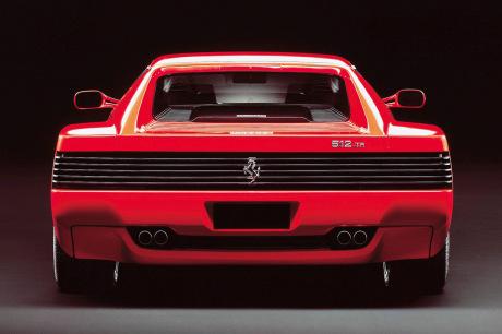 Rétromobile : la Ferrari 512 TR de Johnny Hallyday y est exposée