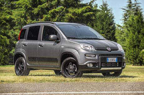 Fausse aventurière: Fiat Panda City Cross