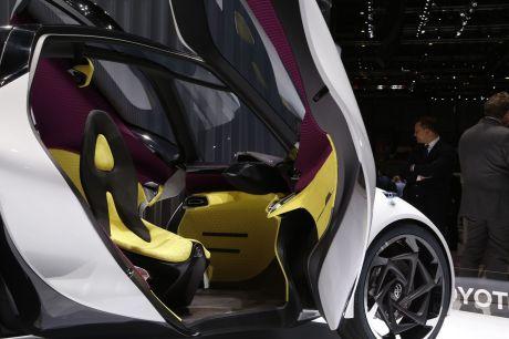 toyota i tril concept un scooter quatre roues au salon de gen ve l 39 argus. Black Bedroom Furniture Sets. Home Design Ideas