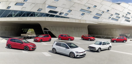 Volkswagen Golf GTI family
