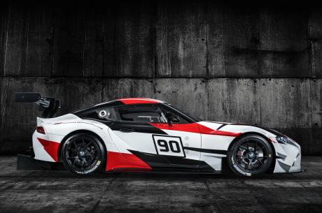 toyota gr supra racing concept en attendant la supra. Black Bedroom Furniture Sets. Home Design Ideas