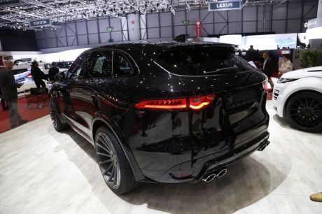 La version Hamann du Jaguar F Pace paraît, elle, un peu plus aboutie.