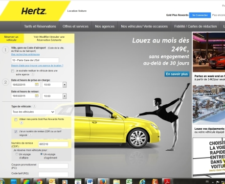 location voiture hertz avec les meilleures collections d 39 images. Black Bedroom Furniture Sets. Home Design Ideas