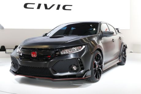 honda civic type r un prototype de la future type r au. Black Bedroom Furniture Sets. Home Design Ideas