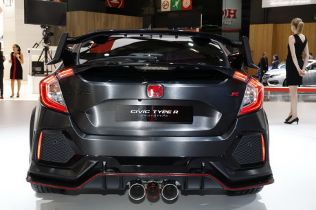 honda civic type r 2017 au moins 340 ch sous le capot. Black Bedroom Furniture Sets. Home Design Ideas