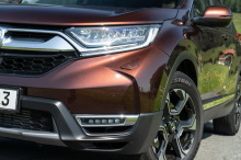 Honda CR-V 2018 marron optique avant