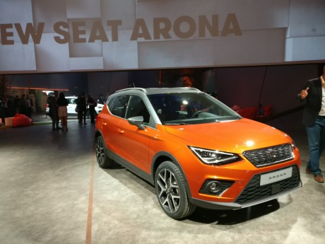 seat arona 2017 infos photos tout sur le rival du renault captur l 39 argus. Black Bedroom Furniture Sets. Home Design Ideas