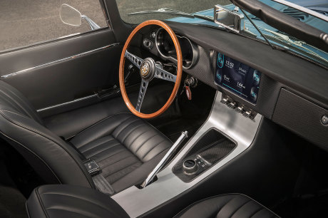 Jaguar Type E Zero intérieur