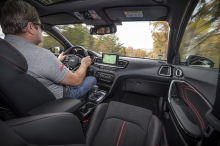 Kia Proceed 1.6 T-GDi DCT7 GT shifter