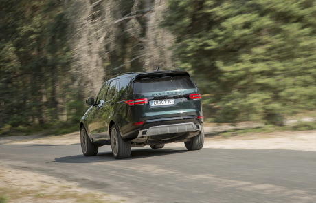 land rover discovery 2017 vue arrière