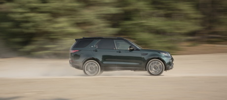 vitesse avec le land rover discovery 2017