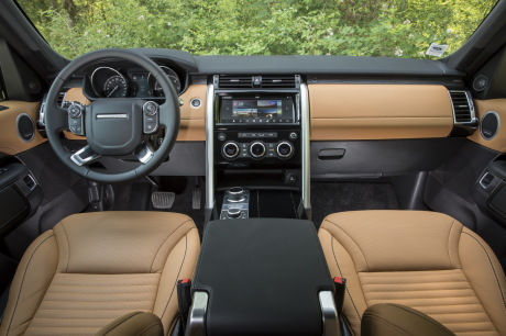 planche de bord land rover discovery TD6 HSE Luxury