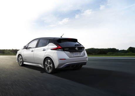 Nissan Leaf (2018) - Elle flirte avec les 400 km !