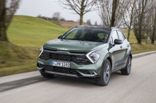 Lexus IS 300h grise statique avant droit