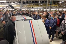 Renault 4 electric Macron