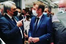 Luca de Meo Emmanuel Macron