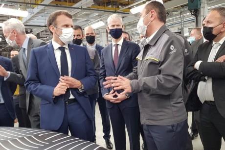 Renault Mégane electric Macron