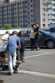publicit sur la cote argus making of du spot tv l 39 argus. Black Bedroom Furniture Sets. Home Design Ideas
