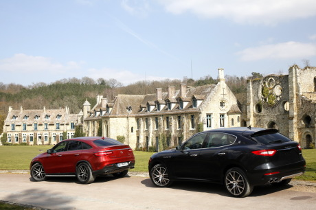 Maserati Levante vs Mercedes GLE Coupé
