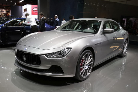 maserati ghibli et quattroporte restyl es au mondial de paris 2016 l 39 argus. Black Bedroom Furniture Sets. Home Design Ideas