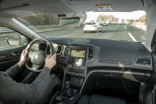 Renault Méganane Zen view on board