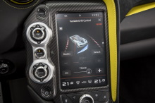 McLaren 720S ecran variable droft control