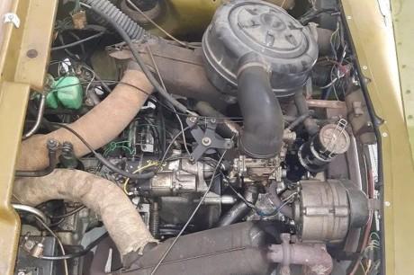 Citroën Méhari 4x4 engine