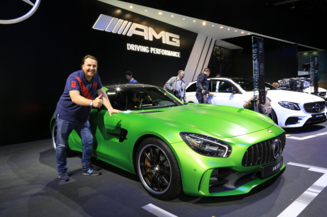 prix mercedes amg gt r 174 800 pour 585 ch l 39 argus. Black Bedroom Furniture Sets. Home Design Ideas