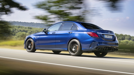 Mercedes-AMG C 63 S test (2018): star dancer