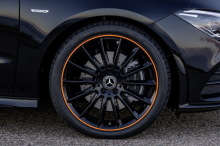 New Mercedes CLA 2019 Edition 1 black and orange rims