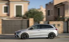 Mercedes class B gray threaded - left