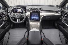 interior mercedes c class 2021