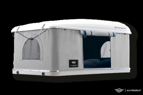 une tente de toit pour le mini countryman l 39 argus. Black Bedroom Furniture Sets. Home Design Ideas