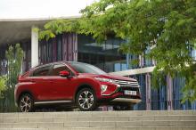 Mitsubishi Eclipse Cross rear view red