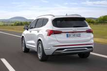 hyundai santa fe restyle 2020 hybride rechargeable