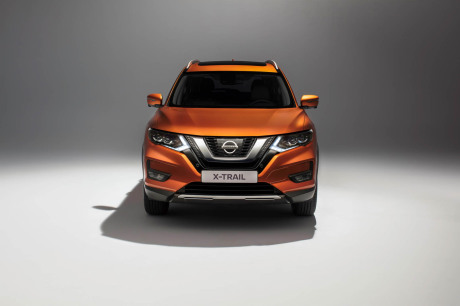 Nissan X-Trail 2017 restylage face orange