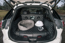 nissan x-trail 4dogs coffre