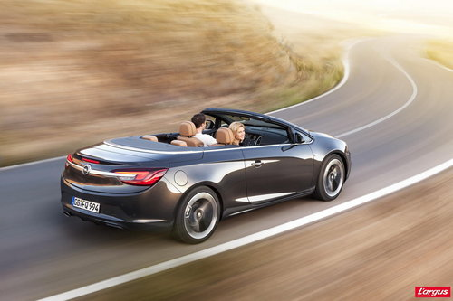 Salon de Gen�ve 2013 Opel Cascada Un grand cabriolet � toile souple