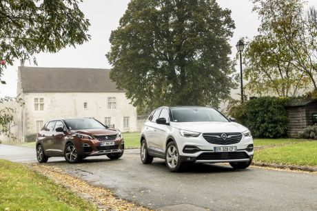 bilan du match opel grandland x vs peugeot 3008 l 39 argus. Black Bedroom Furniture Sets. Home Design Ideas