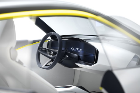 Opel GT X Experimental concept car SUV electric dashboard image