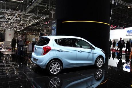 Genève 2015 : l\'Opel Karl fait belle impression - L\'argus