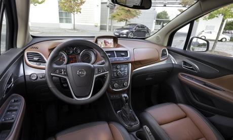 Opel mokka 2015 nouveau diesel 1 6 cdti 110 ch l 39 argus for Interieur opel mokka