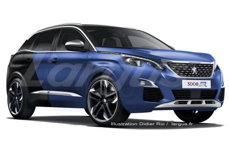 Peugeot 3008 Une Version R Hybrid De 300 Ch En 2019 L Argus