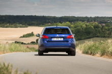 Peugeot 308 Allure bleu action arriÃÃ Â¡re