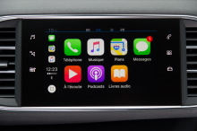 Peugeot 308 Allure bleu 2CRAN aPPLE cARpLAY
