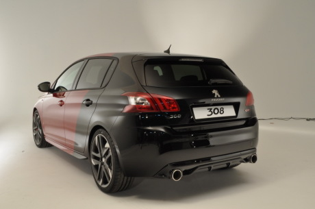 peugeot 308 gti by peugeot sport premi res photos vid o officielle l 39 argus. Black Bedroom Furniture Sets. Home Design Ideas