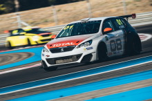 Peugeot 308 Racing Cup Paul Ricard 2017 action avant gauche